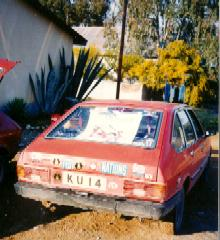 KU 14 - United Nations fastest Car in Cyprus