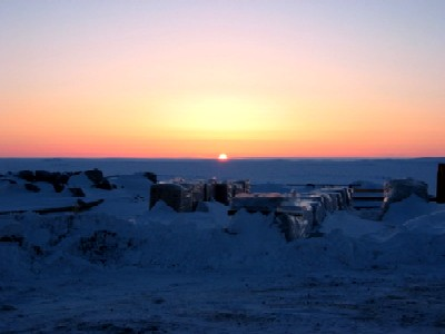 Diavik Diamond Mine Sunrise
