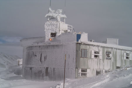 Undof Hermon Base 2004 im Winter